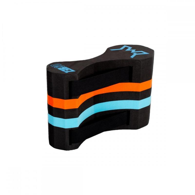 Pull Buoy Swimrun ZEROD Boost - Black Atoll Orange