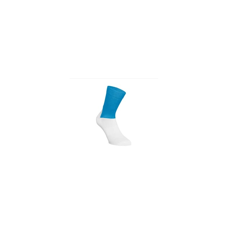 Socquettes POC Essential Road Sock - Stibium Blue - Hydrogen White